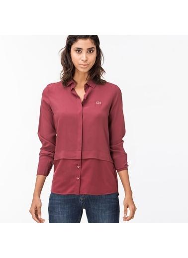Lacoste Kadın  Gömlek CF1912.12K Bordo